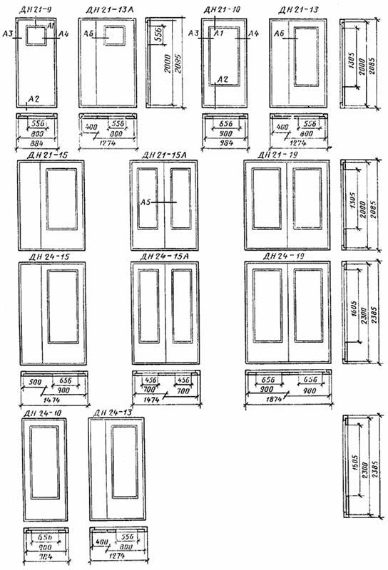 ширина наружной входной двери
